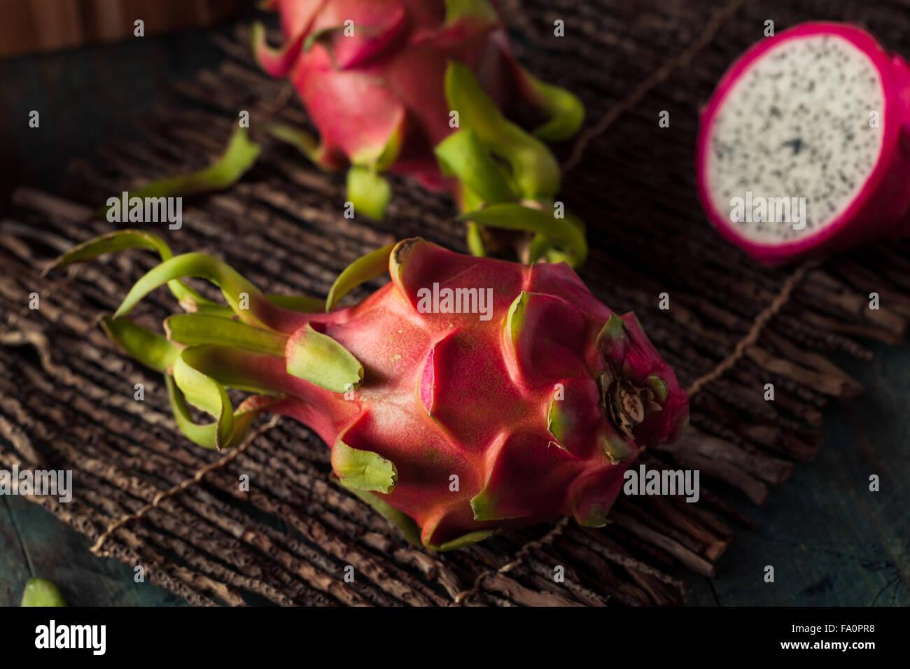 Rawanic Dragon Fruit Ready To Eat Stock Photo, Royalty Free