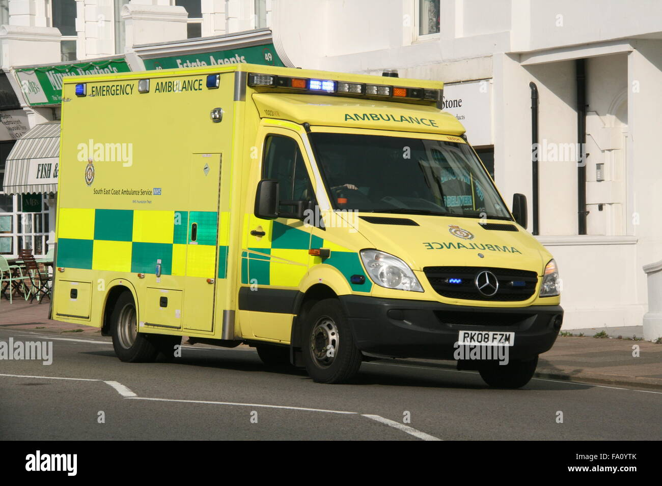 South east coast ambulance service nhs foundation trust for Mercedes benz emergency service