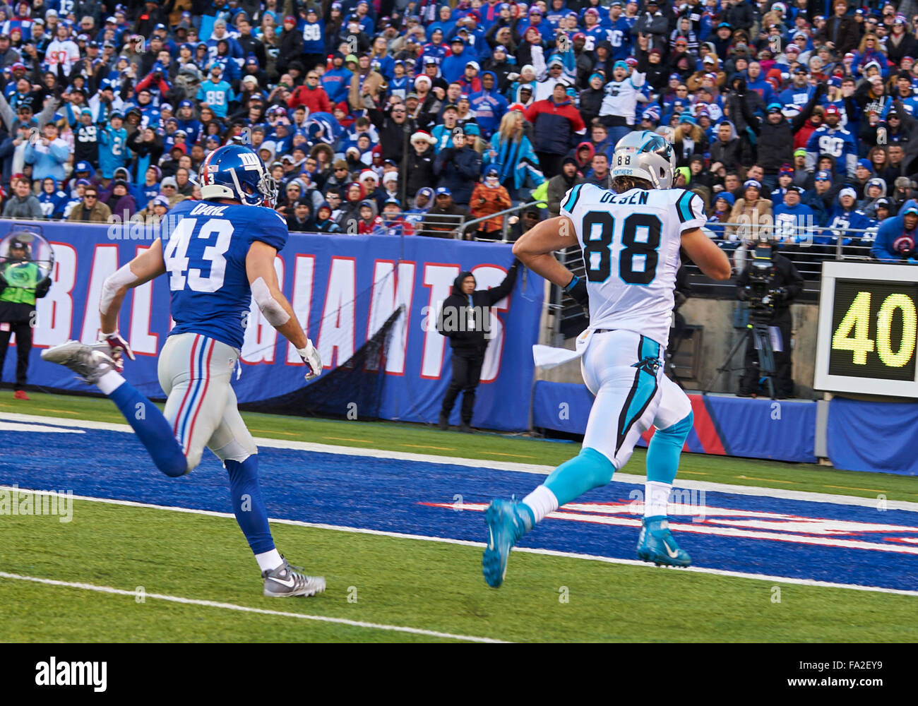 NFL Jerseys Wholesale - East Rutherford, New Jersey, Usa. 20th Dec, 2015. Panthers' Tight ...