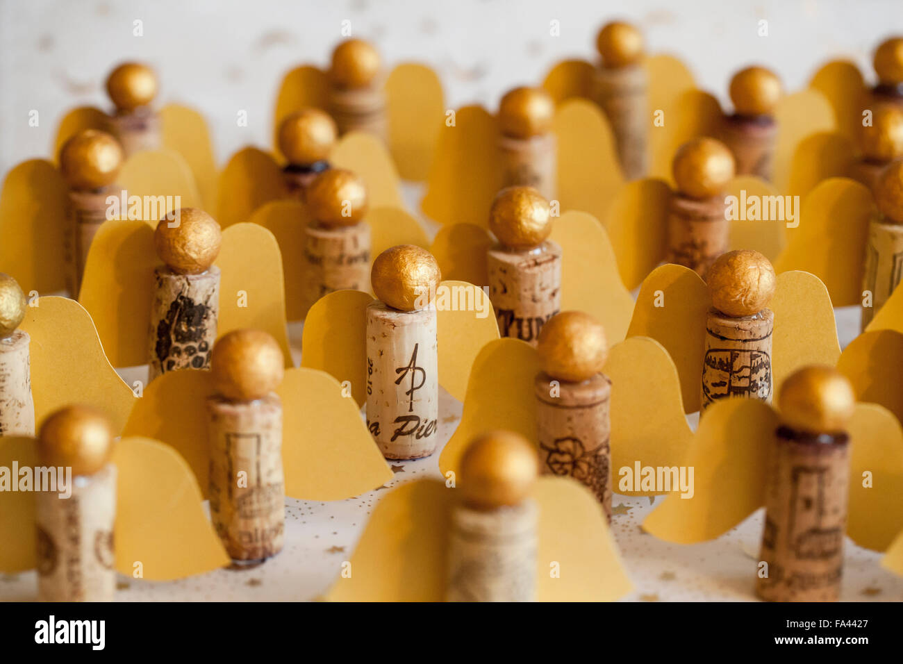 Gold color cardstock paper - Material Polystyrene Balls Gold Color Cardstock Cork Glue Gun Method Paint The Ball Baro Wings Cut From Construction Paper