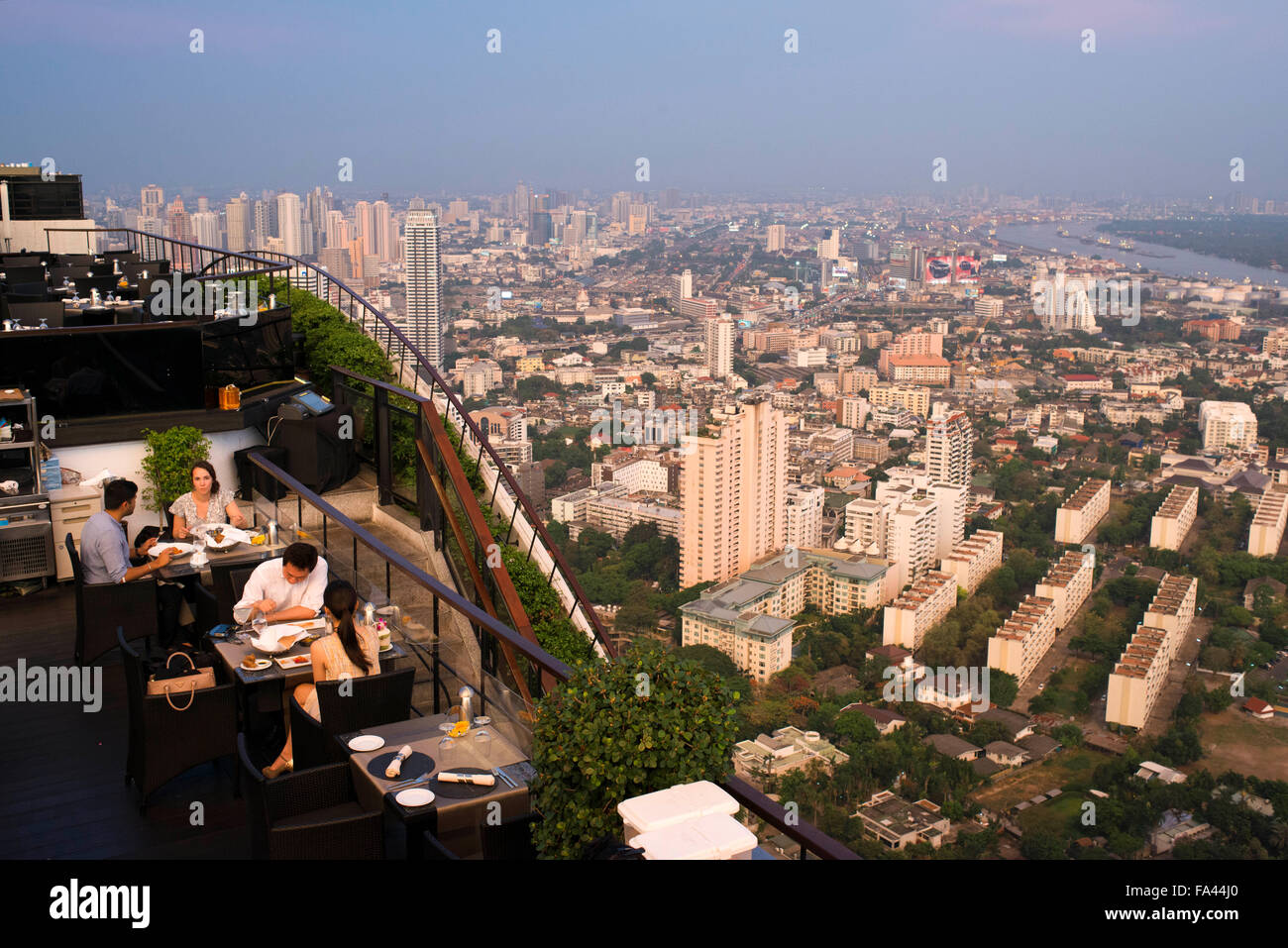 Landscape, views. Banyan Tree Rooftop Vertigo & Moon Bar ...
