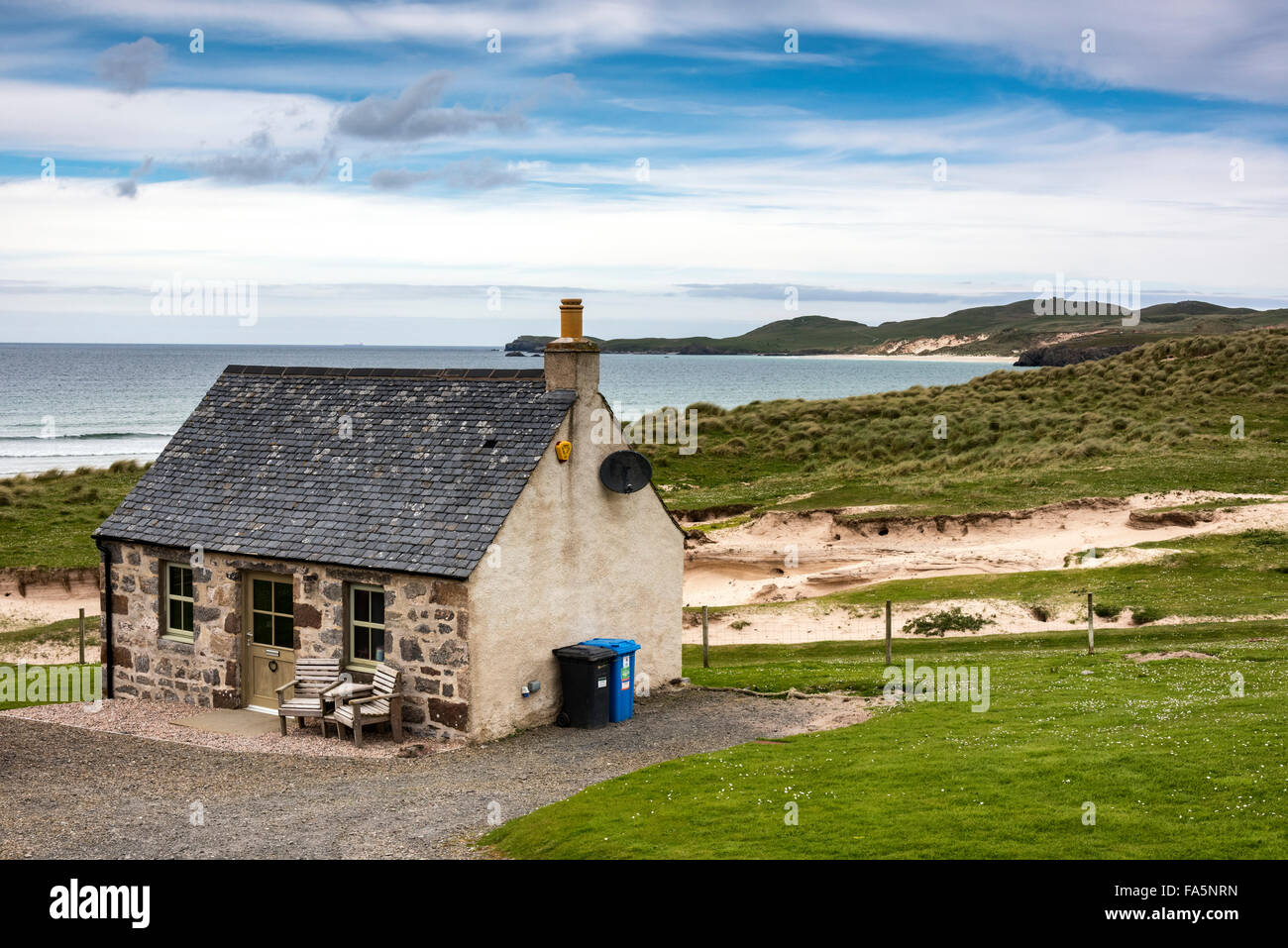 Balnakeil house durness north west scotland stock photo for North west house