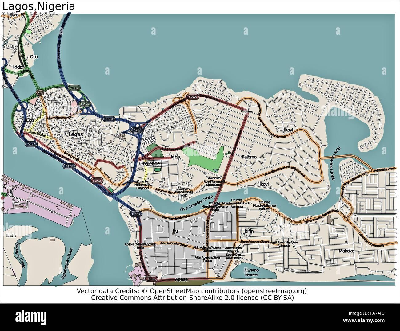 Lagos nigeria location map stock photo royalty free image lagos nigeria location map sciox Choice Image