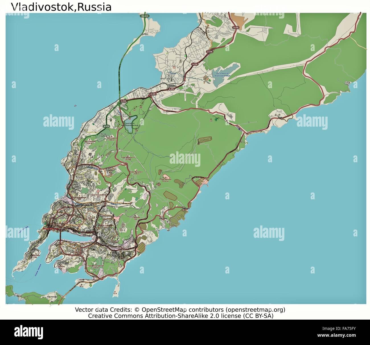 Vladivostok On Map Of Russia World Easy Guides Vladivostok City