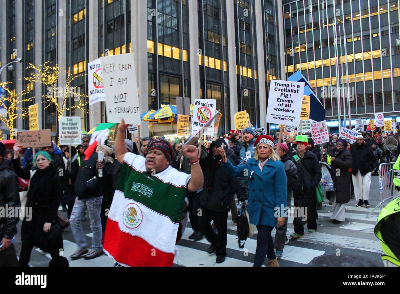 Anti Trump Demo