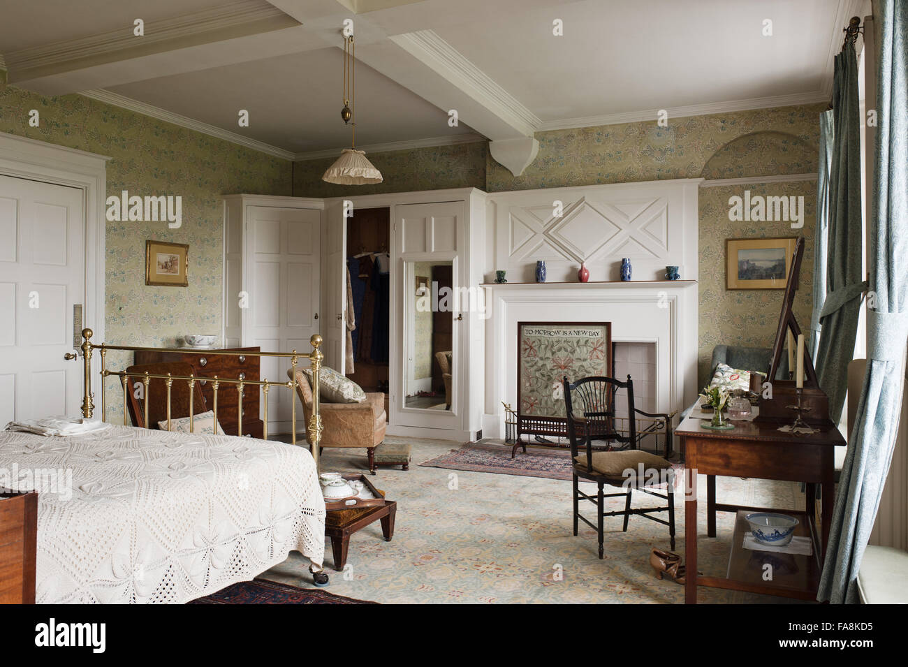Amazing The Larkspur Bedroom At Standen, West Sussex