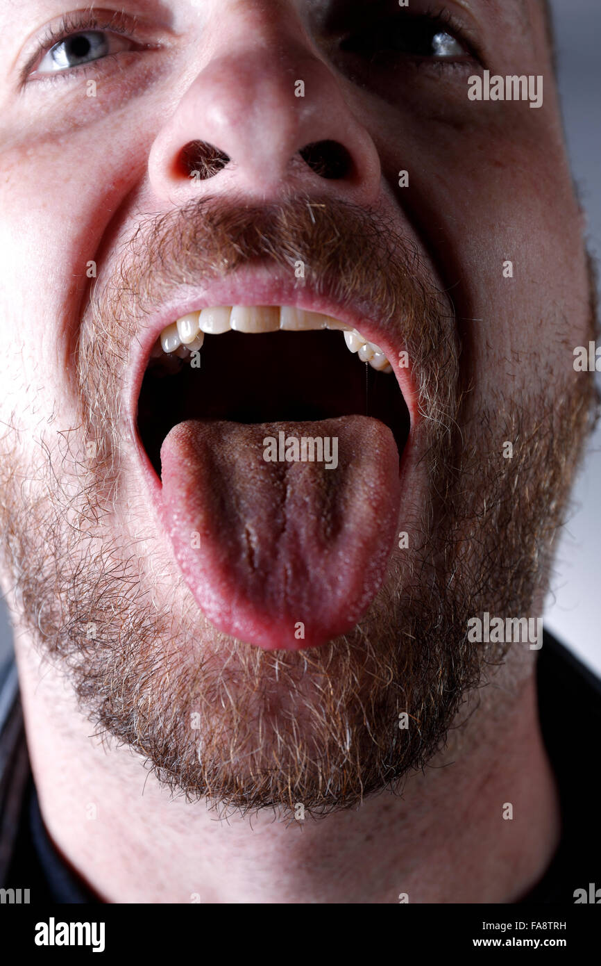 Open Mouth With Tongue 26