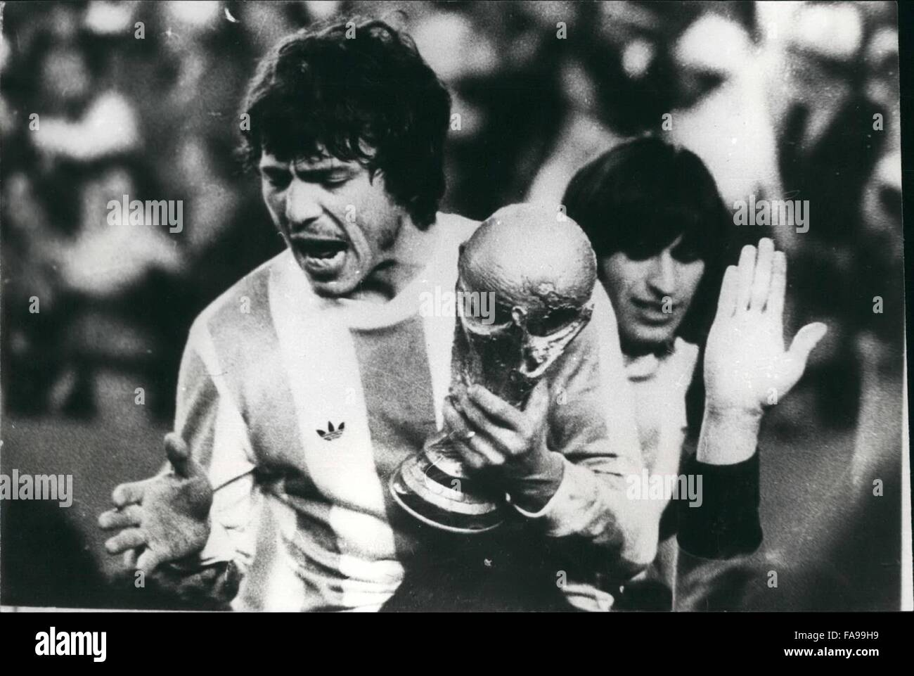 1978 Argentina Wins 1978 World Cup Soccer Championships Daniel