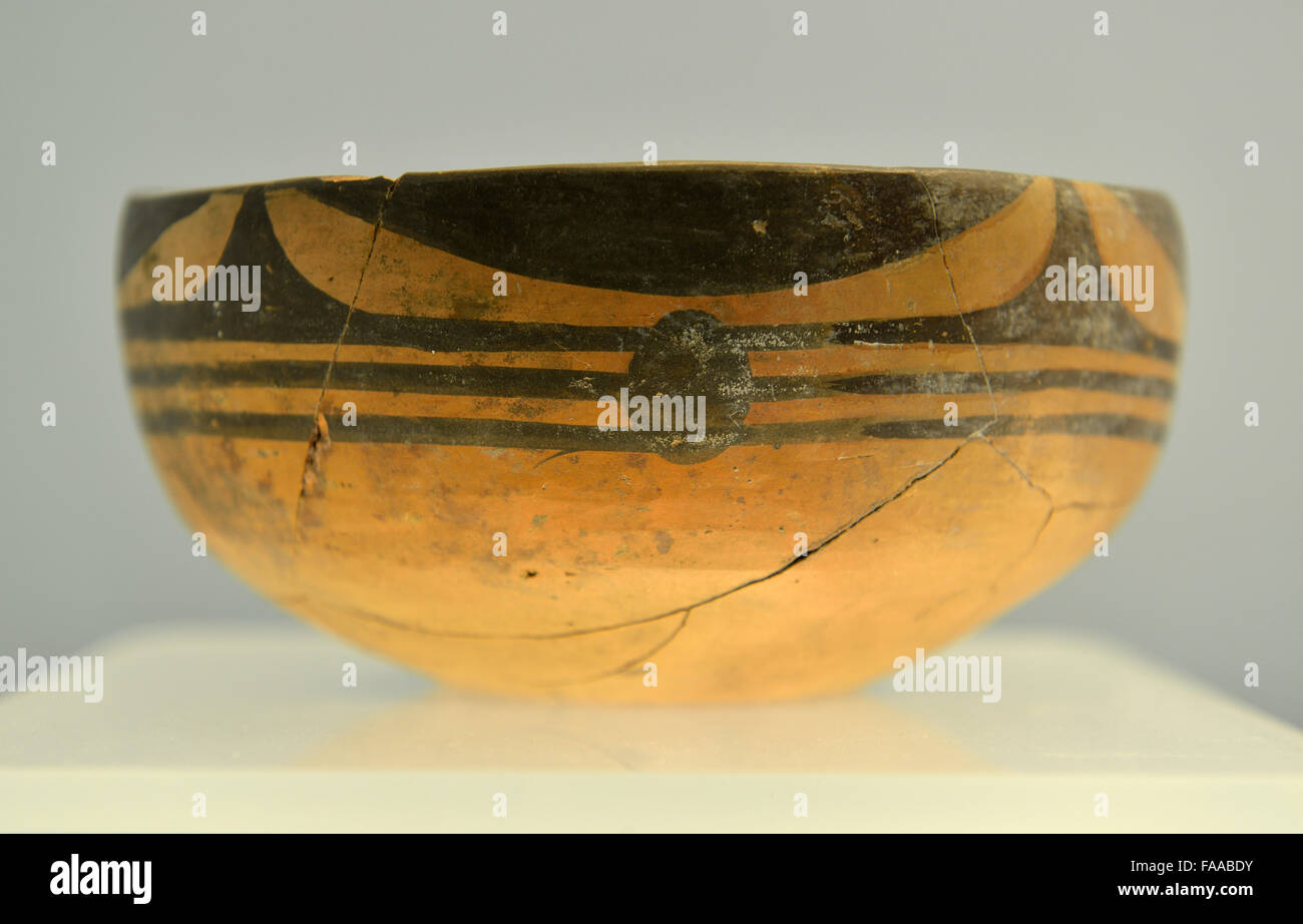 Yangshao stock photos yangshao stock images alamy painted pottery bo bowl with declining curtain pattern miaodigou type of yangshao culture reviewsmspy