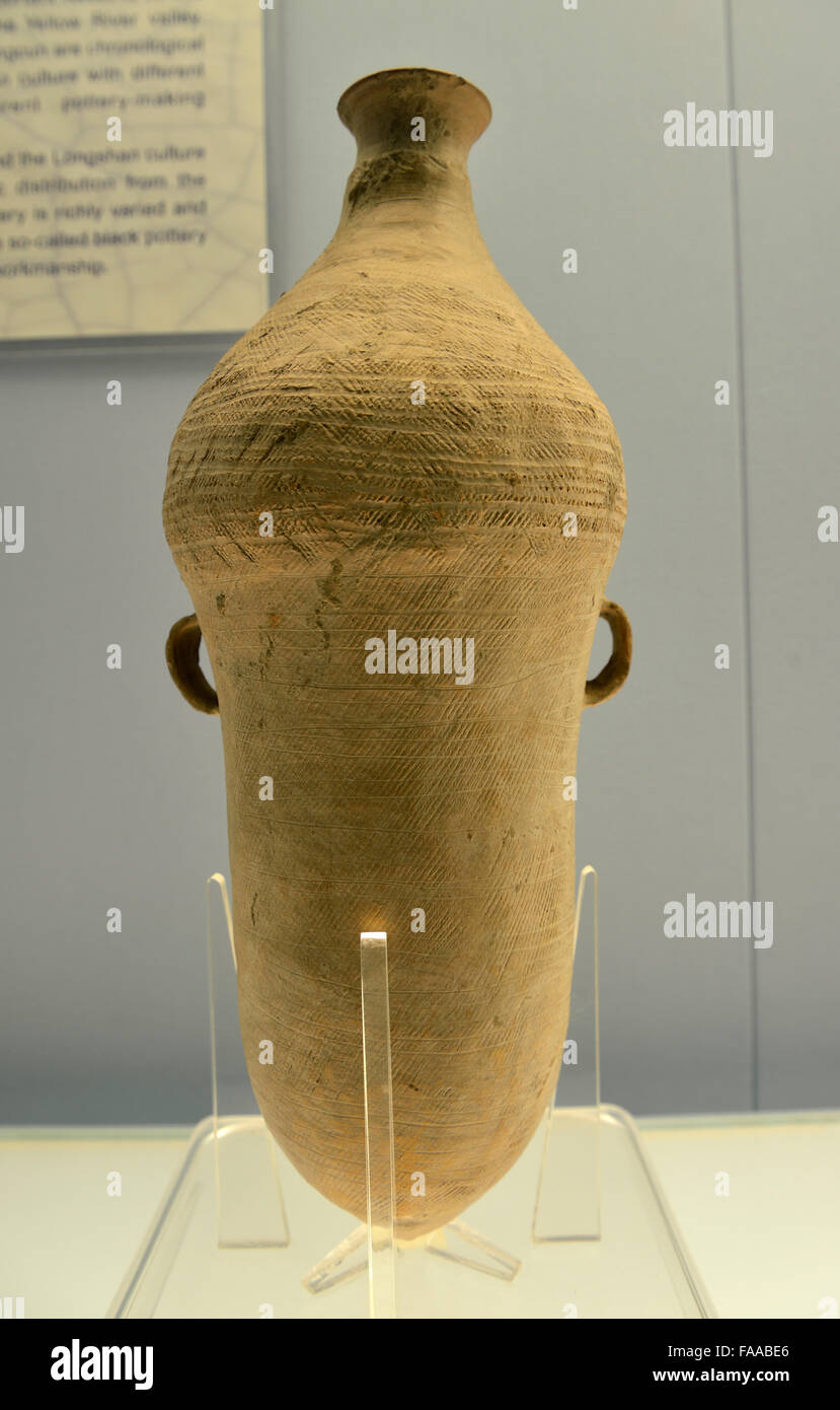 Red pottery vase with a pointed bottom xiwangcun type of yangshao red pottery vase with a pointed bottom xiwangcun type of yangshao culture 3000 2700 bc reviewsmspy