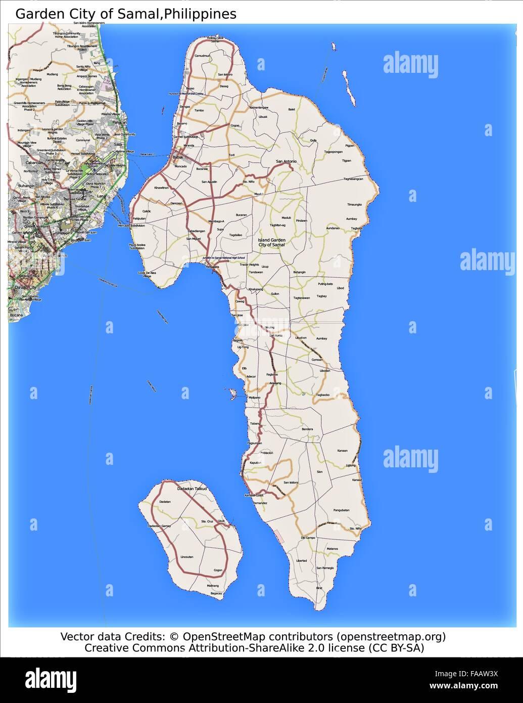 Philippine Islands World Map