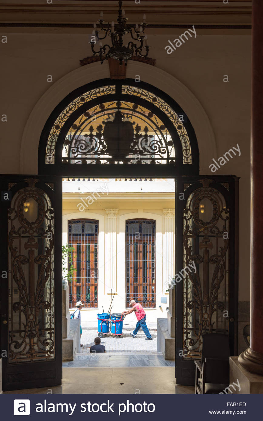 Old havana palace of government cuba view of cuban everyday life old havana palace of government cuba view of cuban everyday life from the interior hall the entrance door is very elaborate and beautiful planetlyrics Image collections