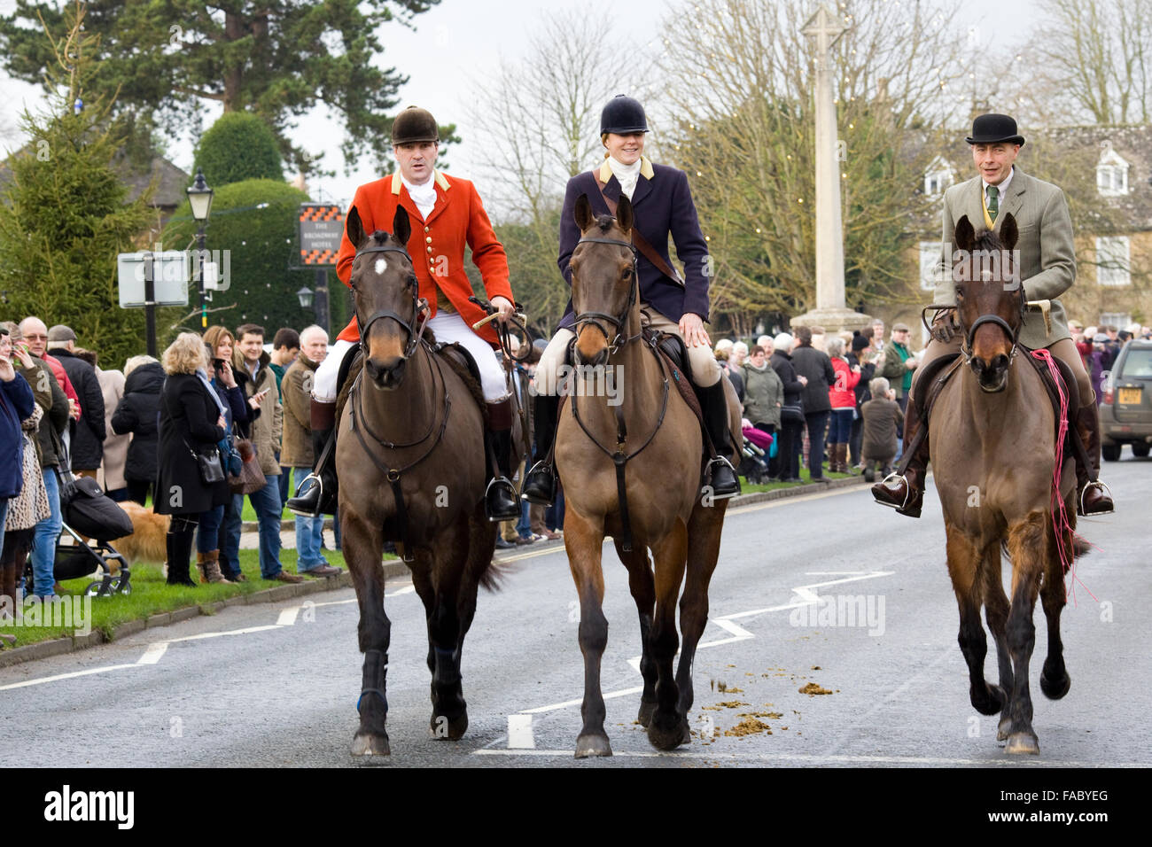 north cotswold hunt boxing day meet 2012