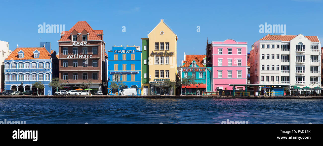 The Colourful Dutch Caribbean Architecture in Willemstad, Curacao