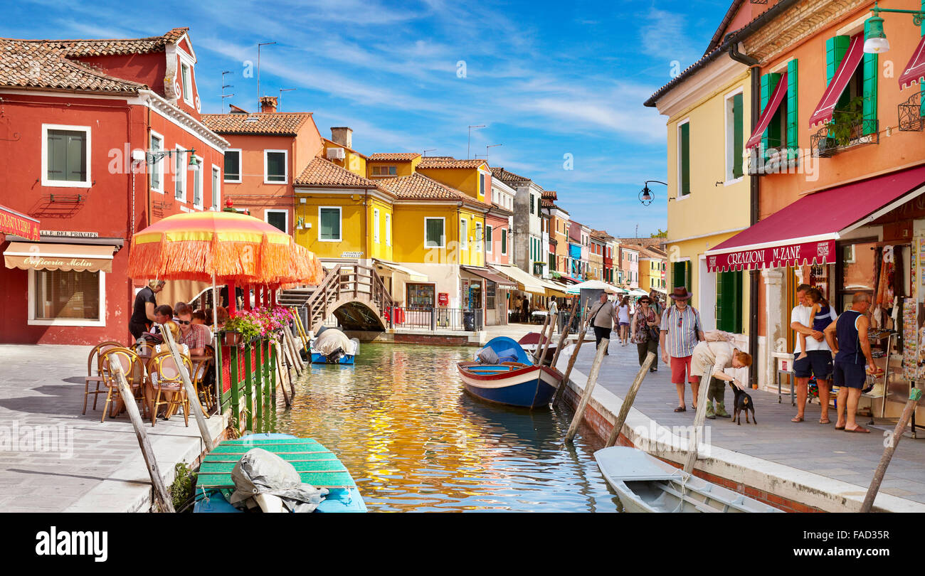 Colorful burano italy burano tourism - Colored Houses In The Burano Village Near Venice Italy