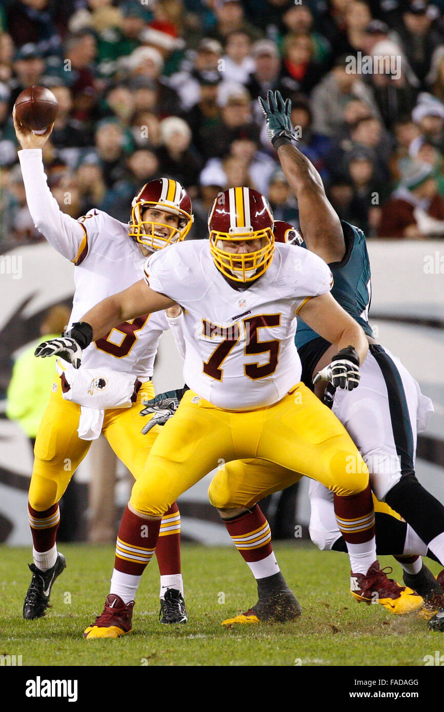 December 26 2015 Washington Redskins offensive guard Brandon