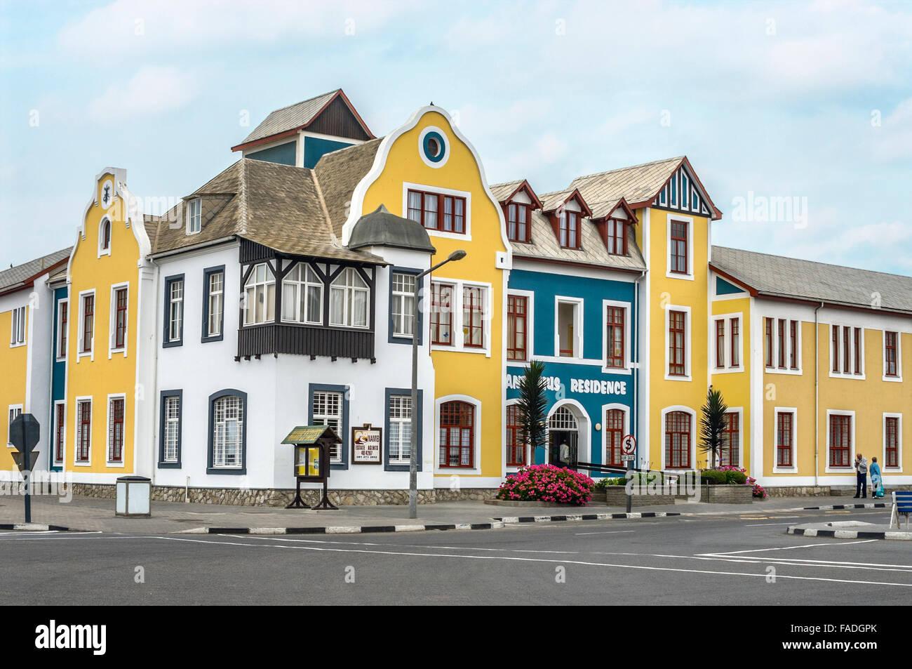 Colonial german building in swakopmund namibia deutsche kolonial stock photo royalty free - Deutsche architektur ...