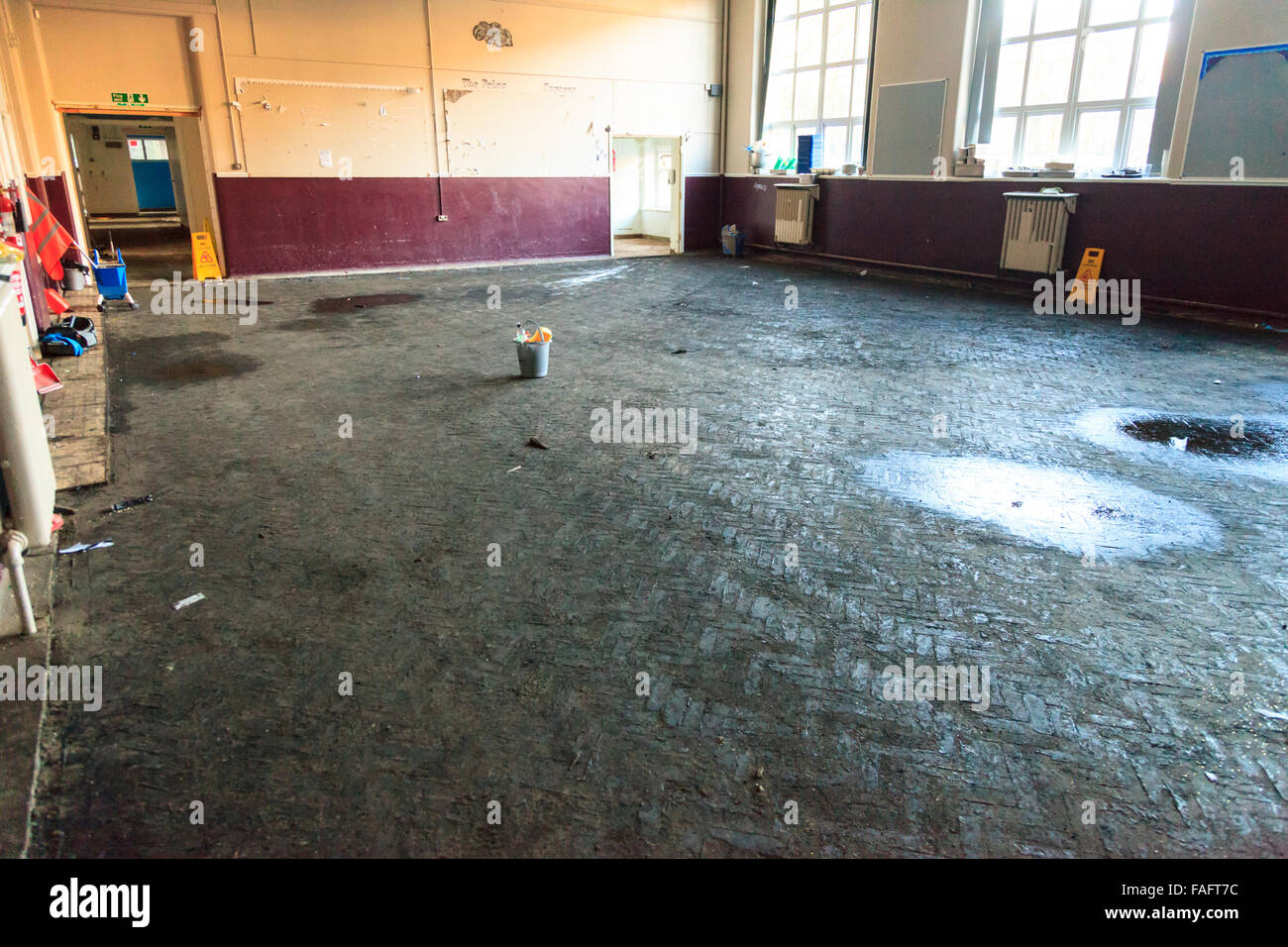 hebden bridge uk 29th dec 2015 the 100 year old floor