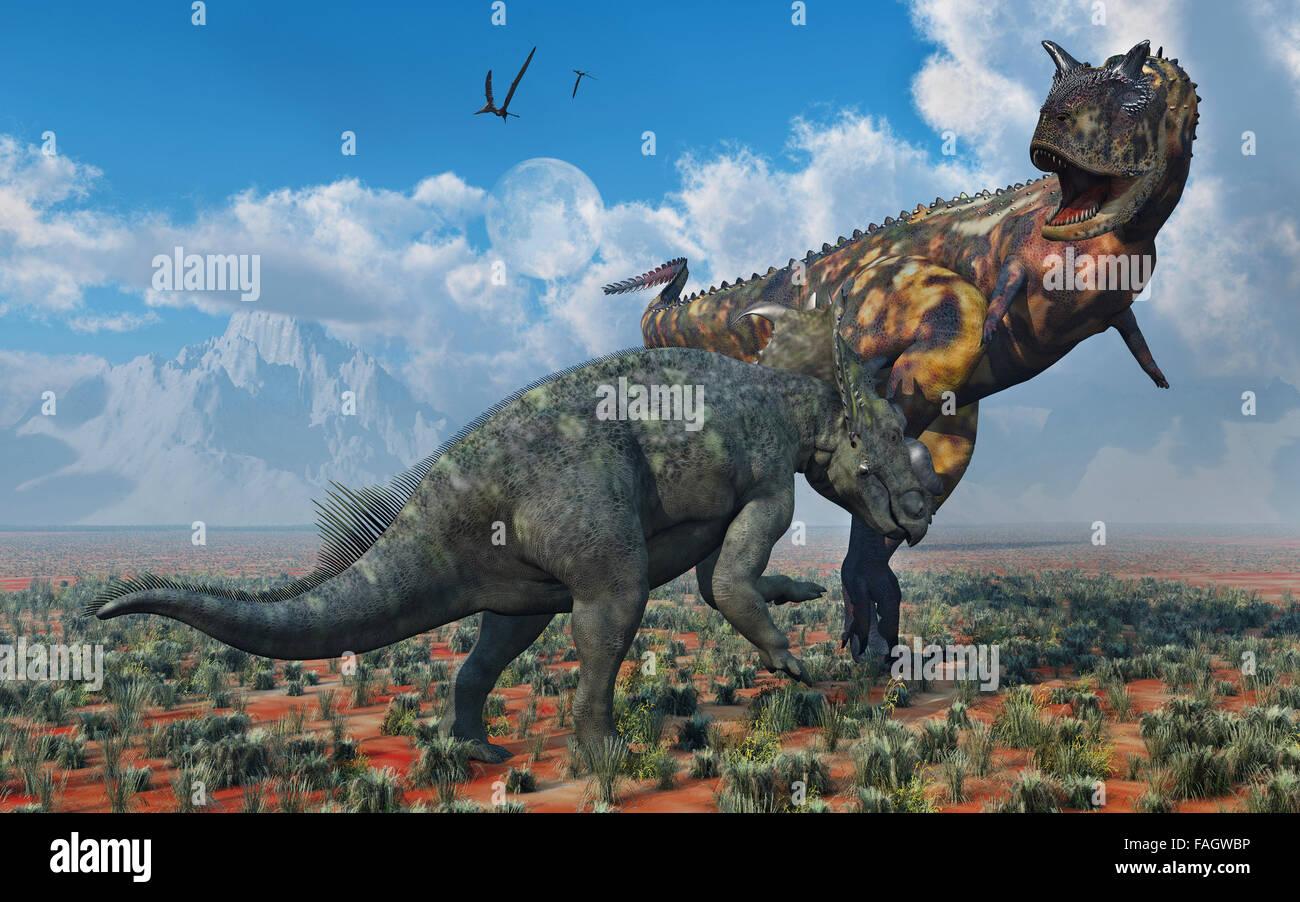 pachyrhinosaurus vs carnotaurus - photo #2