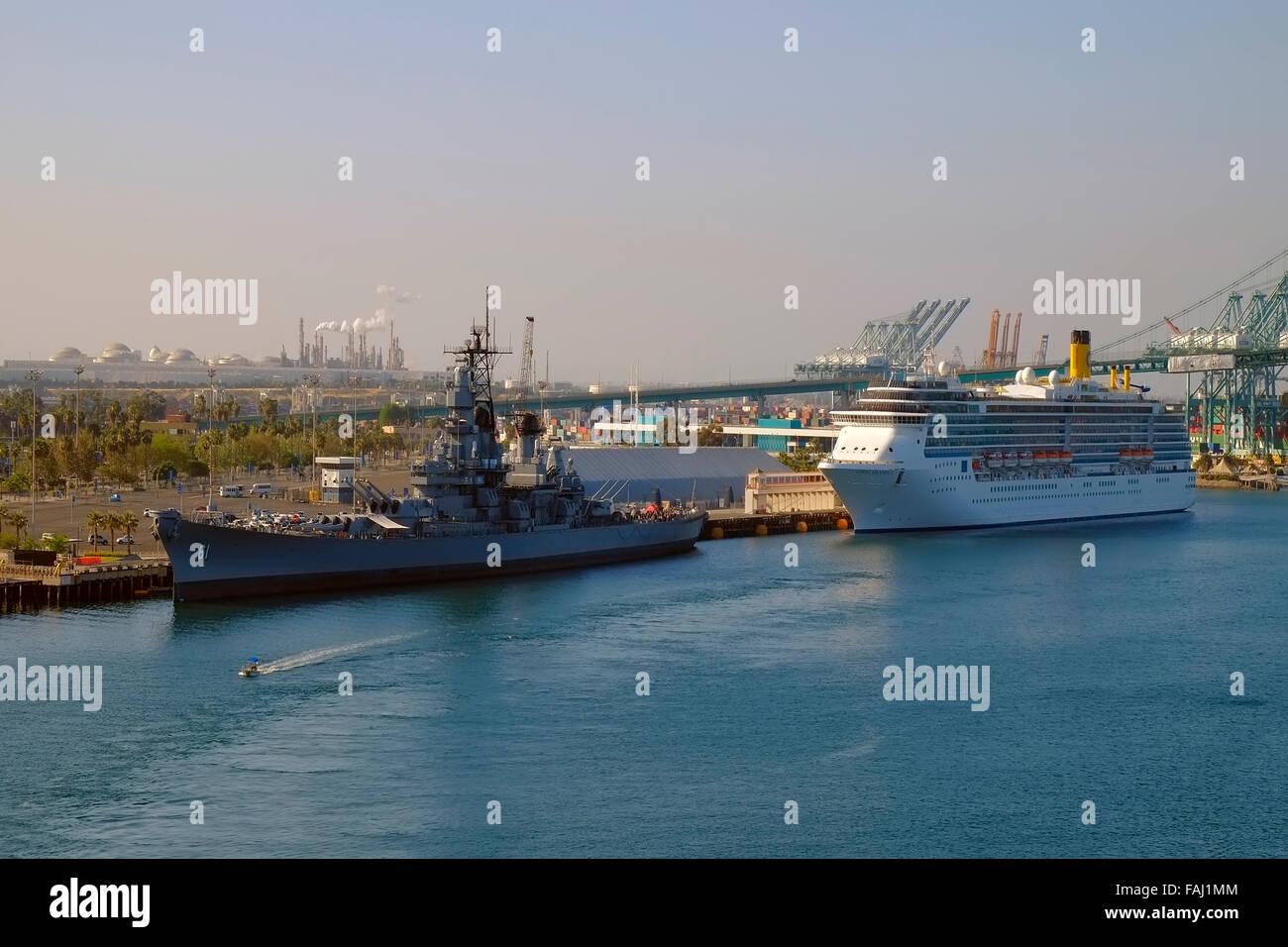 Costa Atlantica Cruise Ship Port Of Los Angeles San Pedro - Cruise ships los angeles