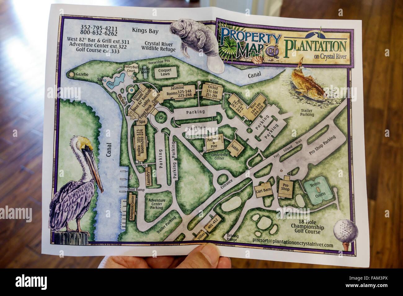 Florida Crystal River Plantation On Crystal River Resort Hotel - Florida map crystal river