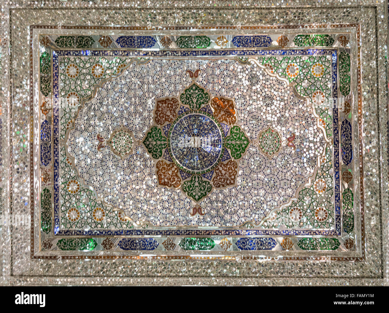Mirror mosaic tile ceiling mirror hall zinat ol molouk house mirror mosaic tile ceiling mirror hall zinat ol molouk house shiraz iran dailygadgetfo Images