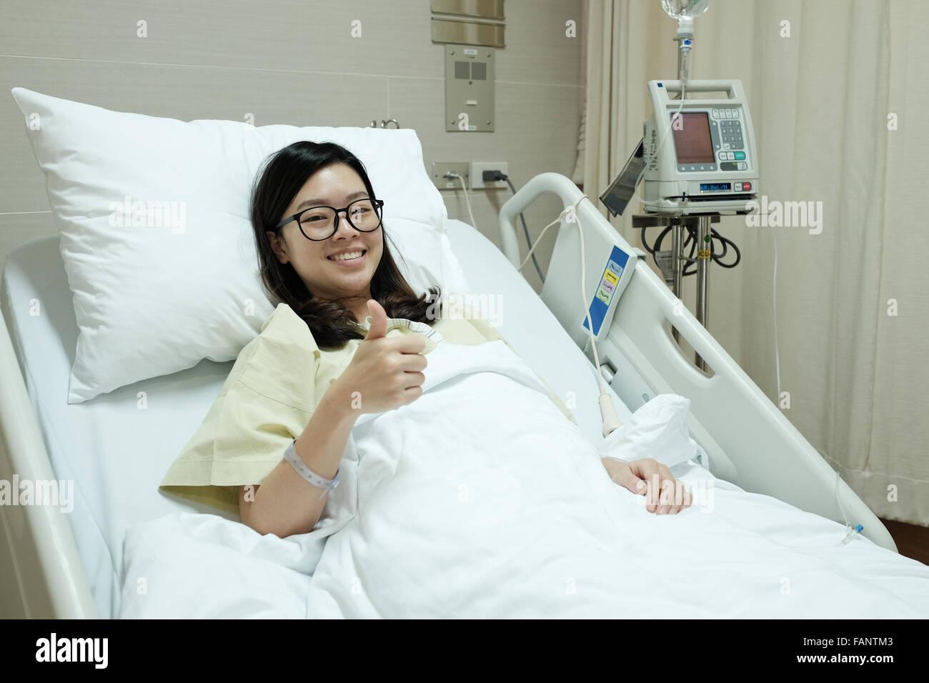 Vids girl in a hospital