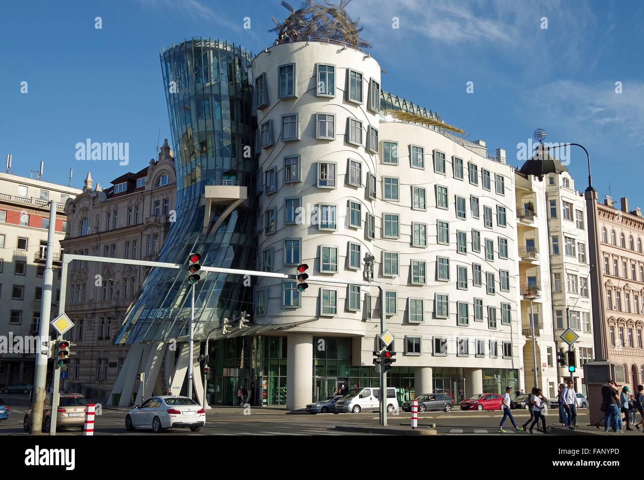 Prague, Dancing House, Frank Gehry, Czech Republic