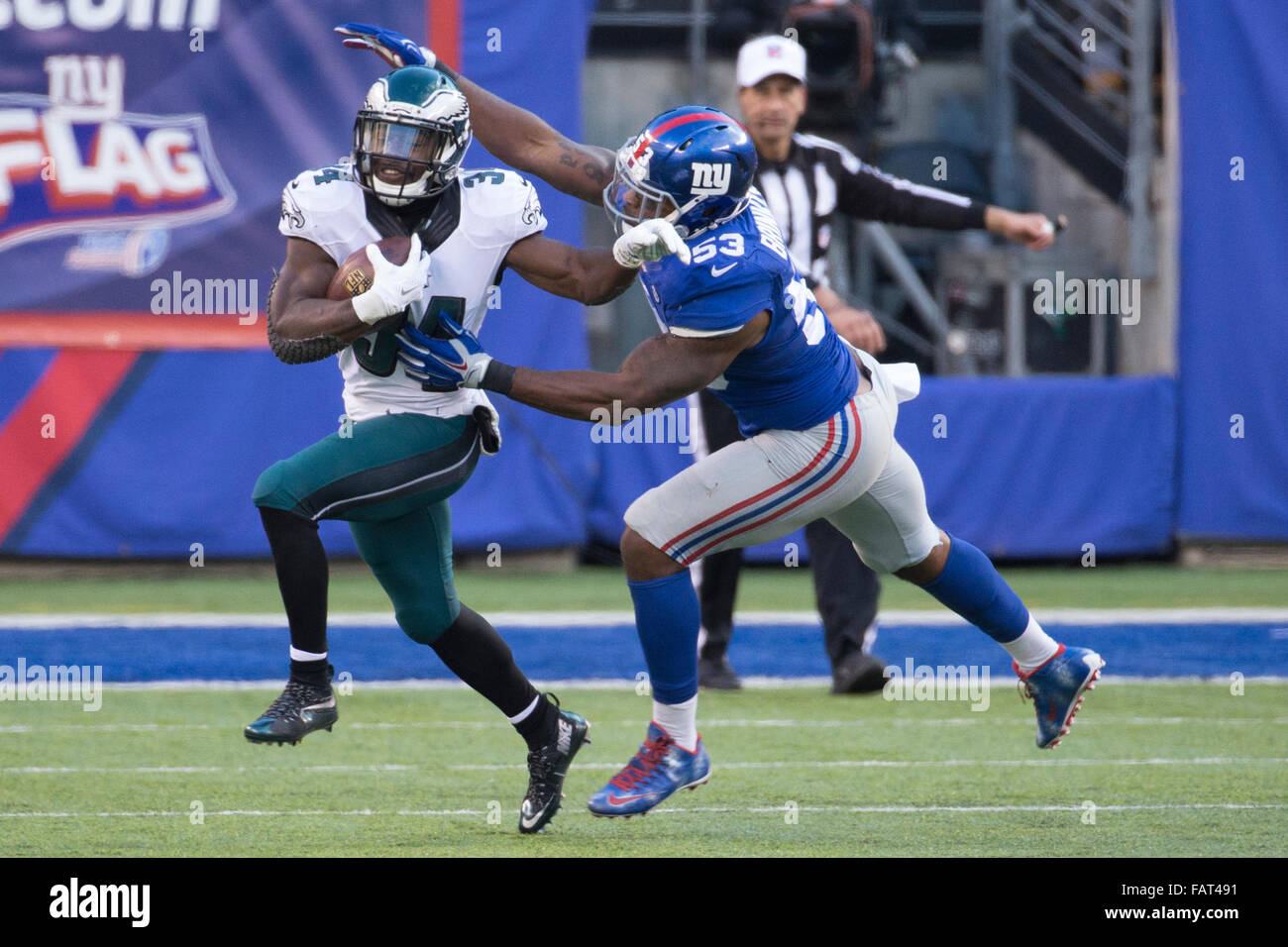 nfl GAME New York Giants Jasper Brinkley Jerseys