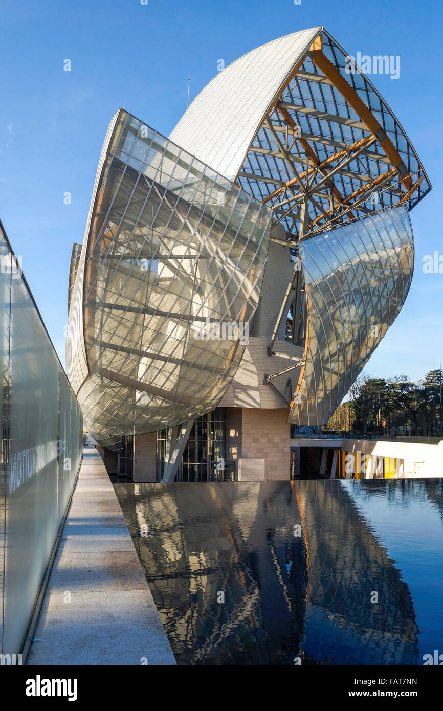 louis vuitton foundation by architect frank gehry art. Black Bedroom Furniture Sets. Home Design Ideas