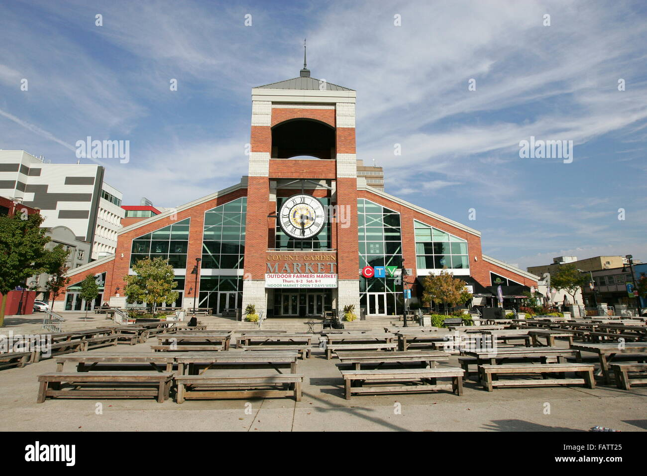 Covent garden market london ontario stock photo royalty for 8 cuisine london ontario