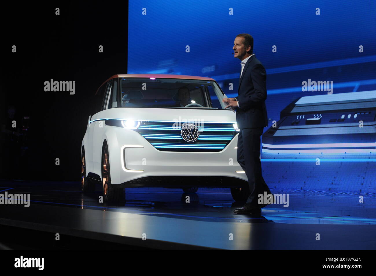 Las Vegas USA Th Jan The Head Of Branding Of Carmaker - Vw car show las vegas