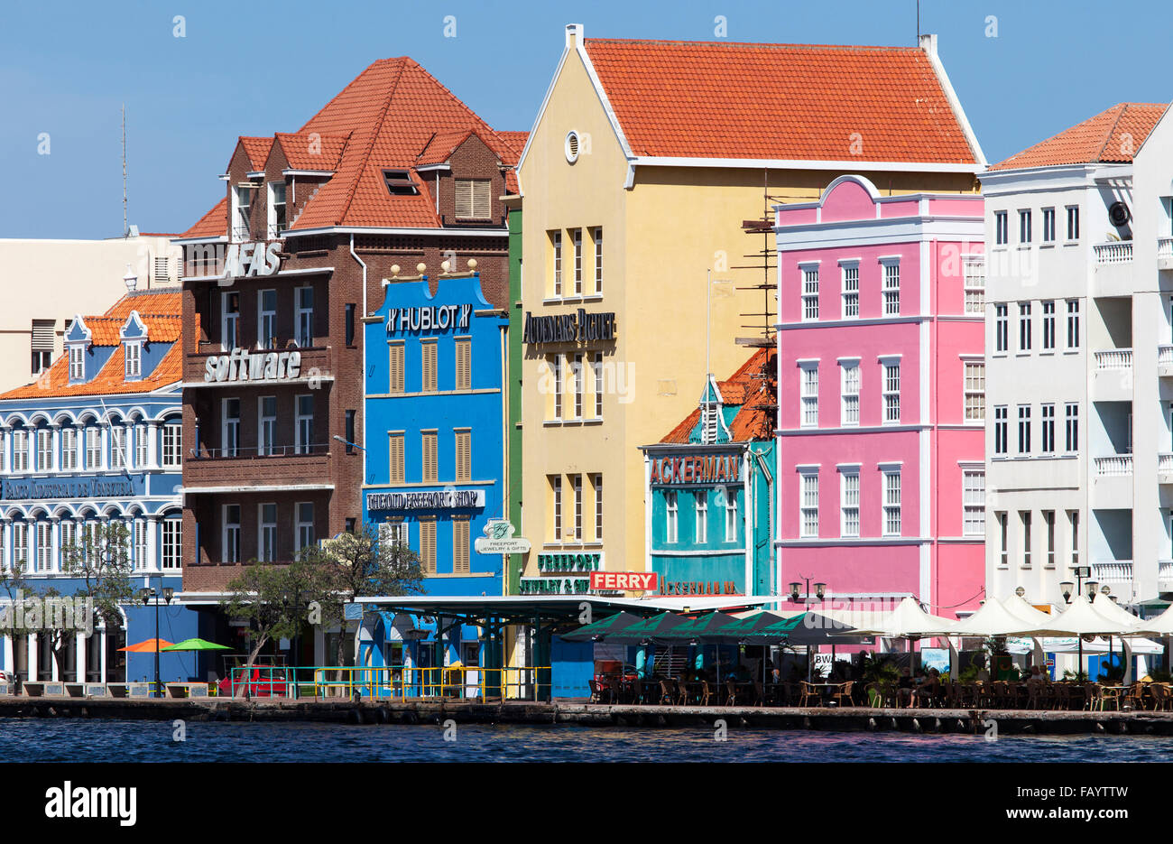 curacao architecture caribbean antilles island