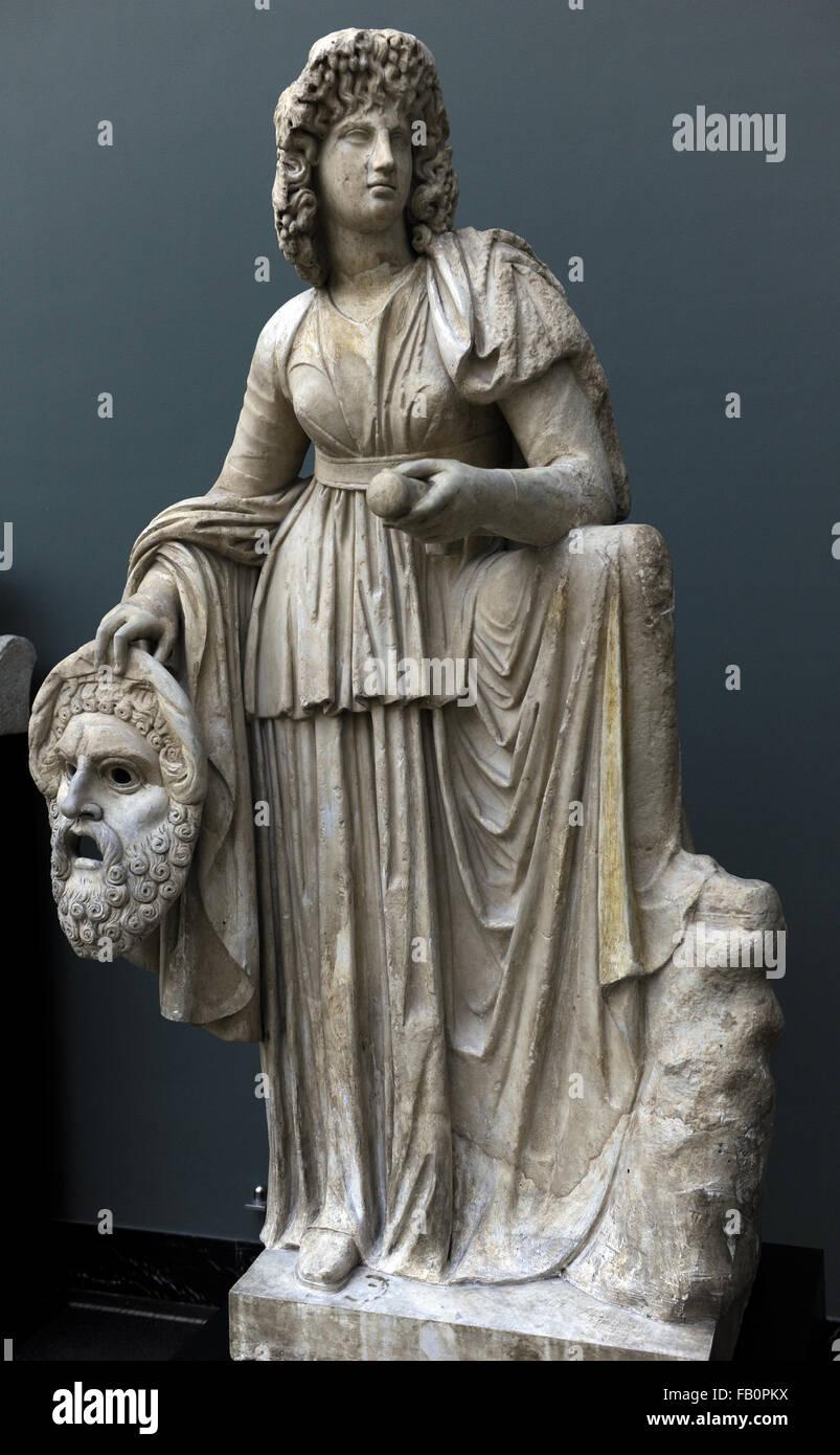 Muse Melpomene - Ancient Greco-Roman Statue