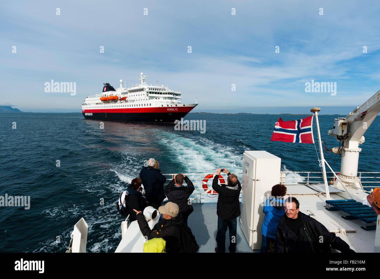 Hurtigruten MS Nordlys Cruise Ship Norway Stock Photo Royalty - Cruise ship norway