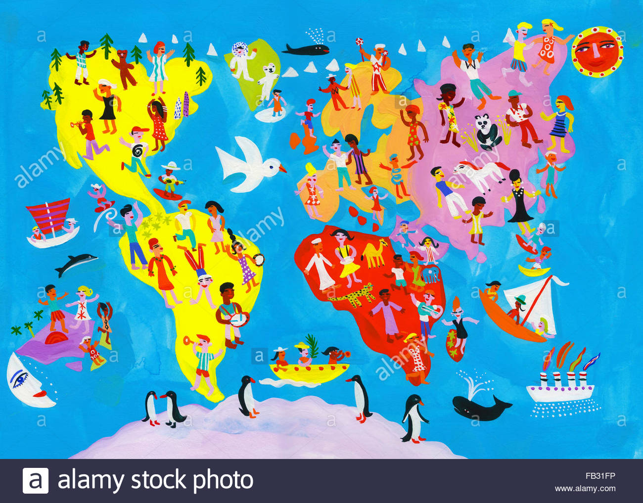 Fun World Map Images Galleries With A Bite