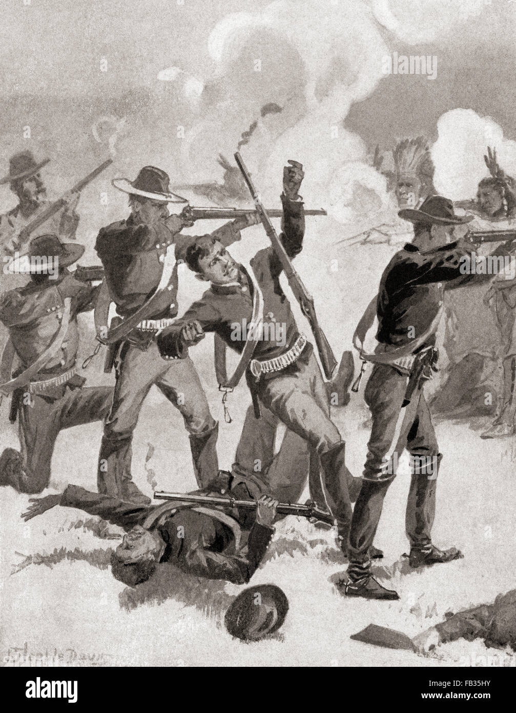 a history of the battle on the wounded knee creek
