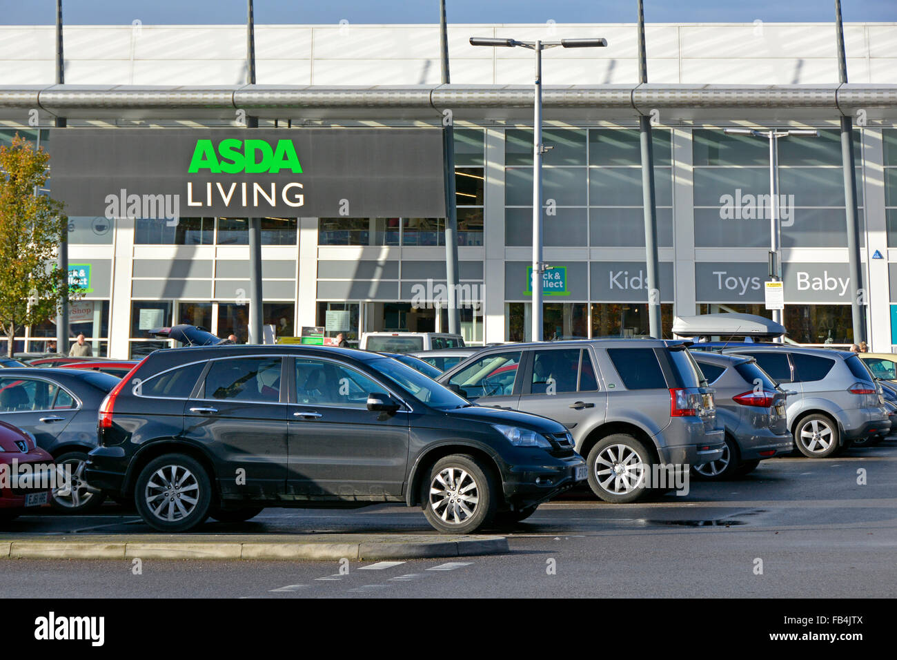 Free Car Parking Outside The Asda Living Non Grocery Products Store In A