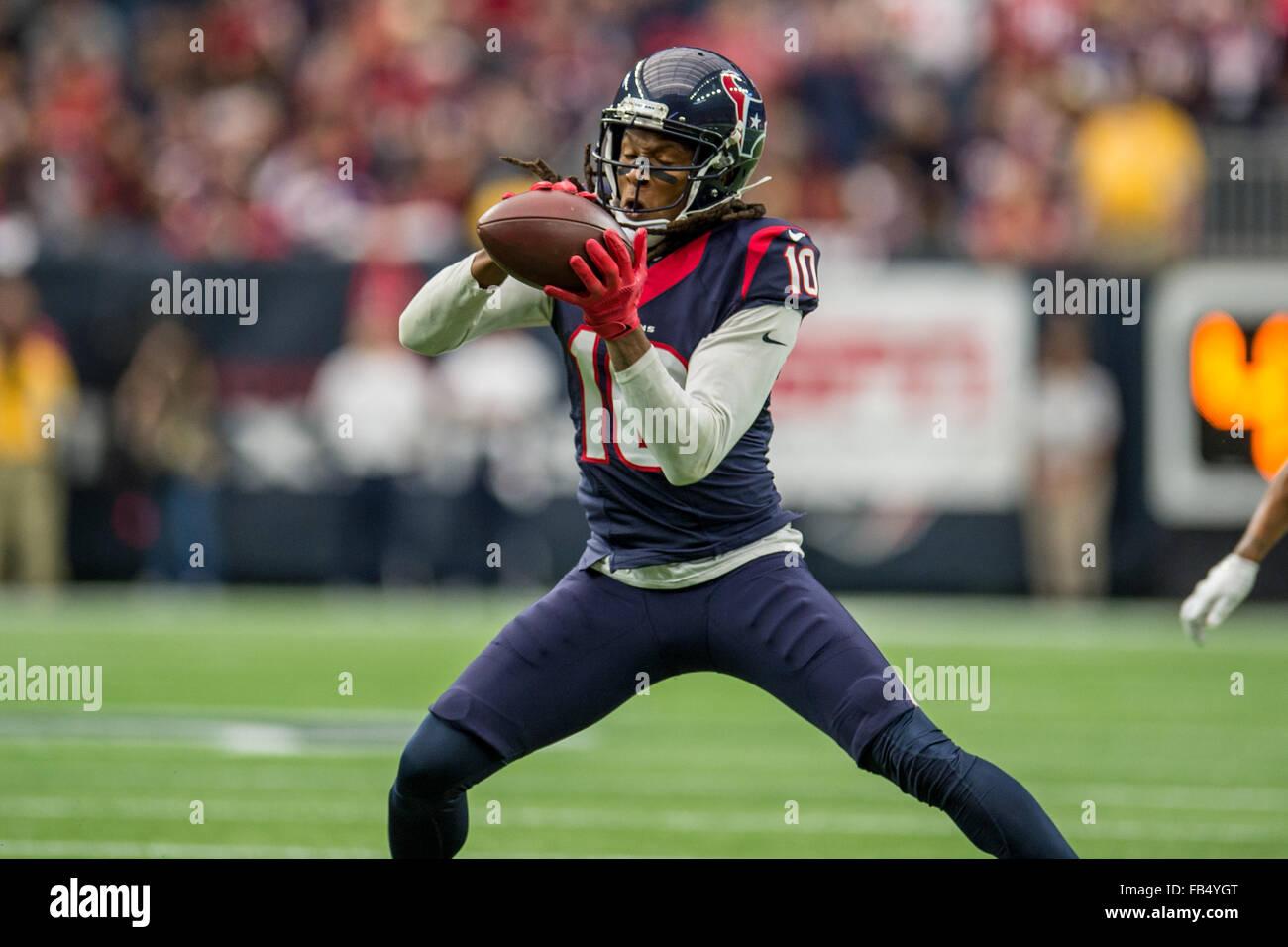 Houston Texas USA 9th Jan 2016 Houston Texans wide receiver