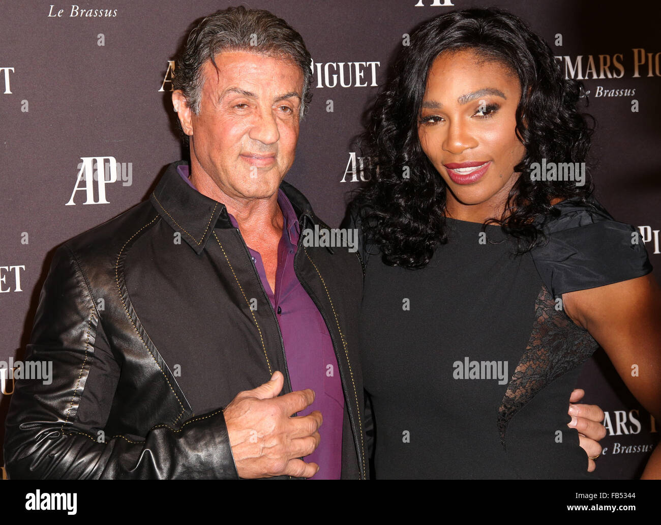 ¿Cuánto mide Sylvester Stallone? - Real height Opening-of-audemars-piguet-rodeo-drive-at-audemars-piguet-arrivals-FB5344