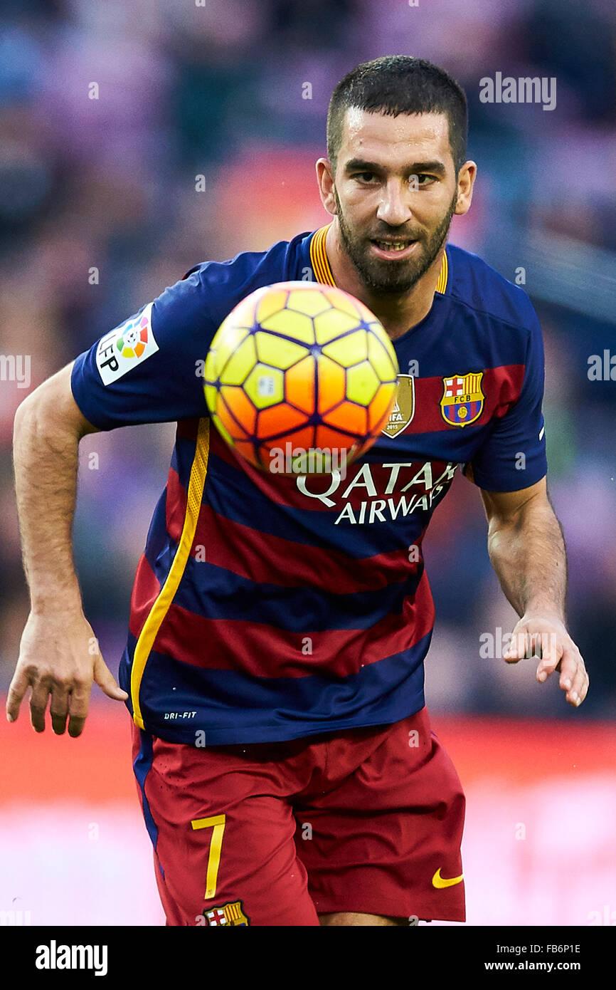 Arda Turan FC Barcelona during La Liga soccer match between FC