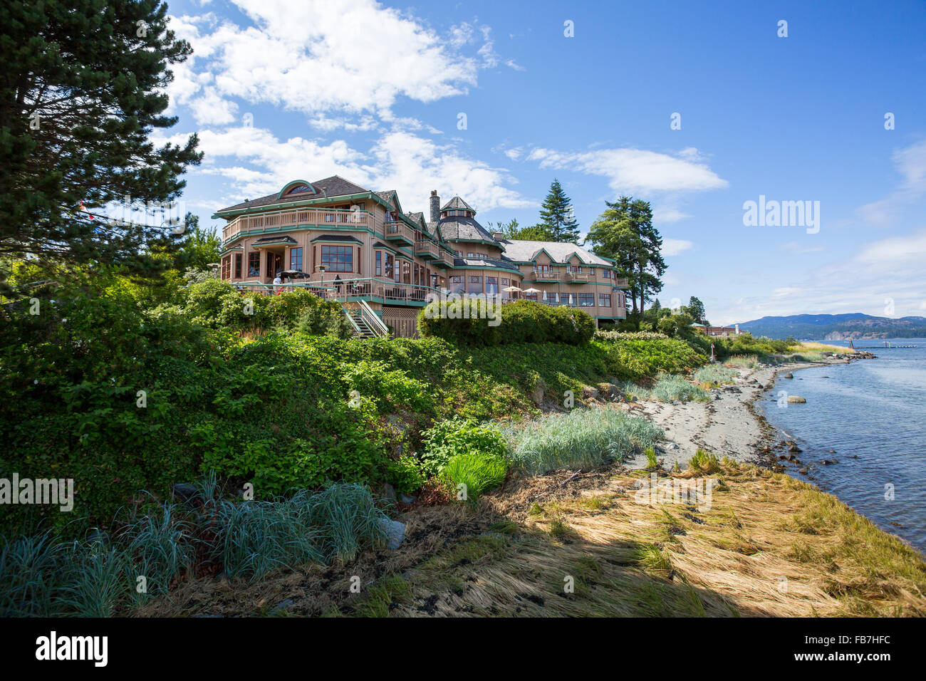 North America, Canada, British Columbia, Vancouver Island, Campbell River,  Painters Lodge