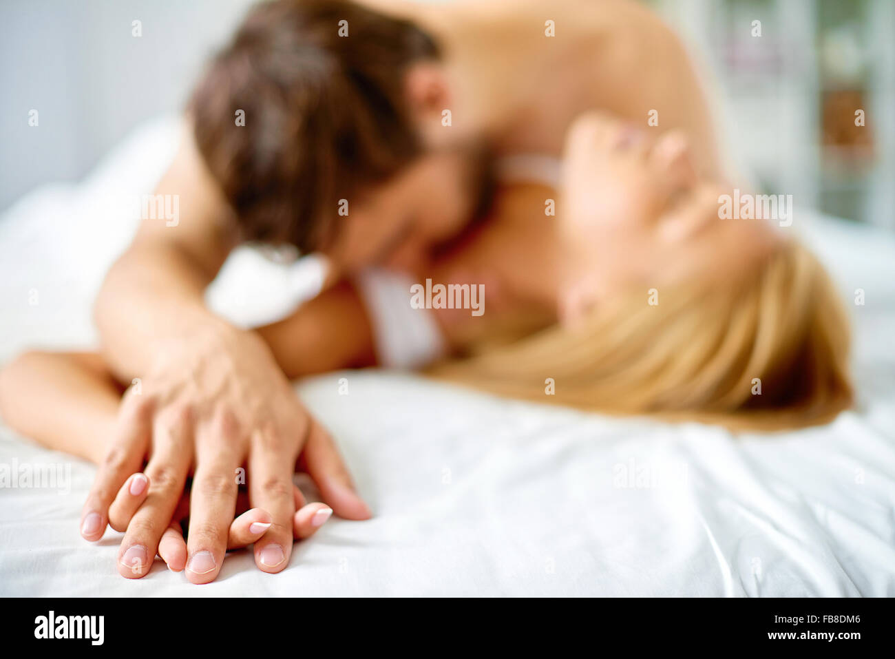 how to cuddle a man in bed