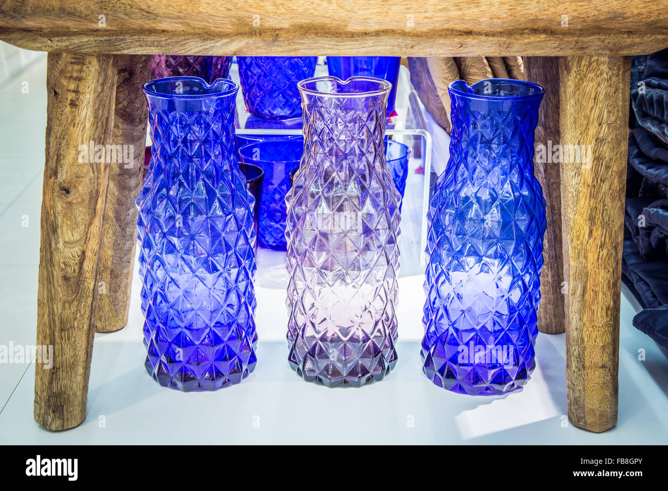 Colored crystal vases stock photo royalty free image 93001859 colored crystal vases reviewsmspy