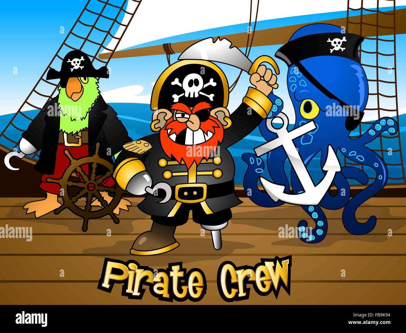 Image result for pirate crew