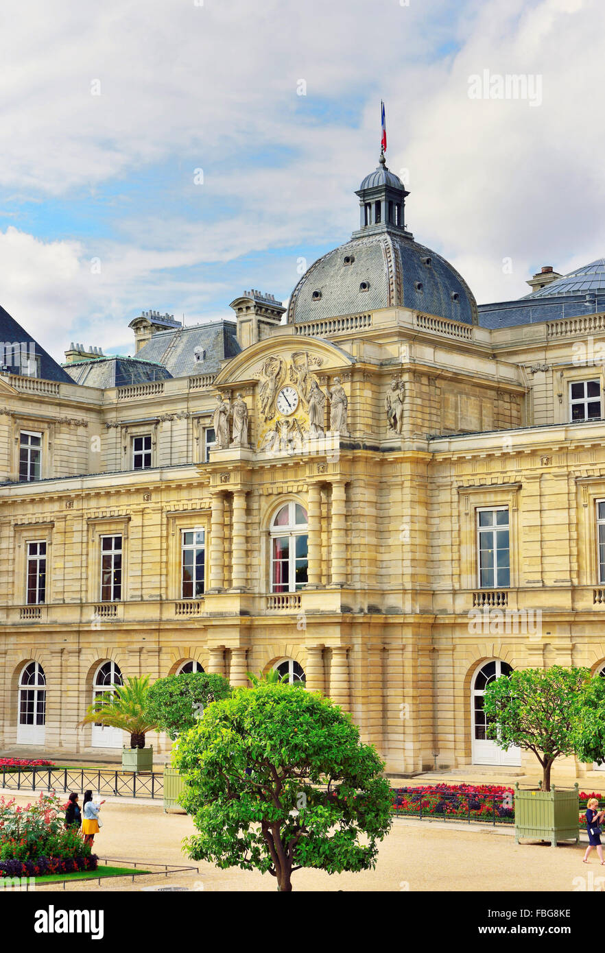 palais de luxembourg paris ile de fance france stock photo royalty free image 93171106 alamy. Black Bedroom Furniture Sets. Home Design Ideas