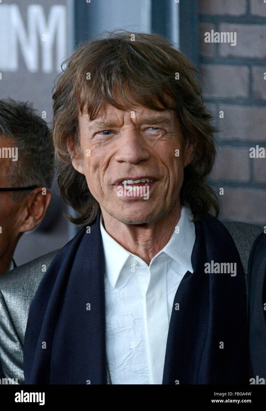 new york ny usa 15th jan 2016 mick jagger at arrivals for vinyl stock photo royalty free. Black Bedroom Furniture Sets. Home Design Ideas