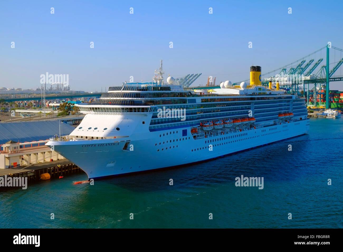Costa Atlantica Cruise Ship Port Of Los Angeles San Pedro - Los angeles cruise ship terminal