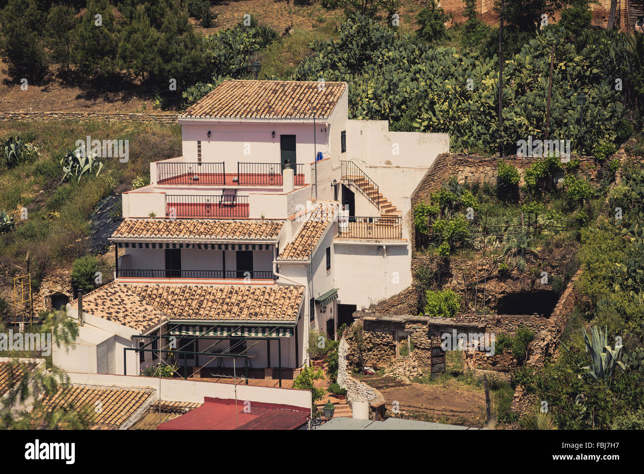 Traditional Spanish Architecture Buildings Houses