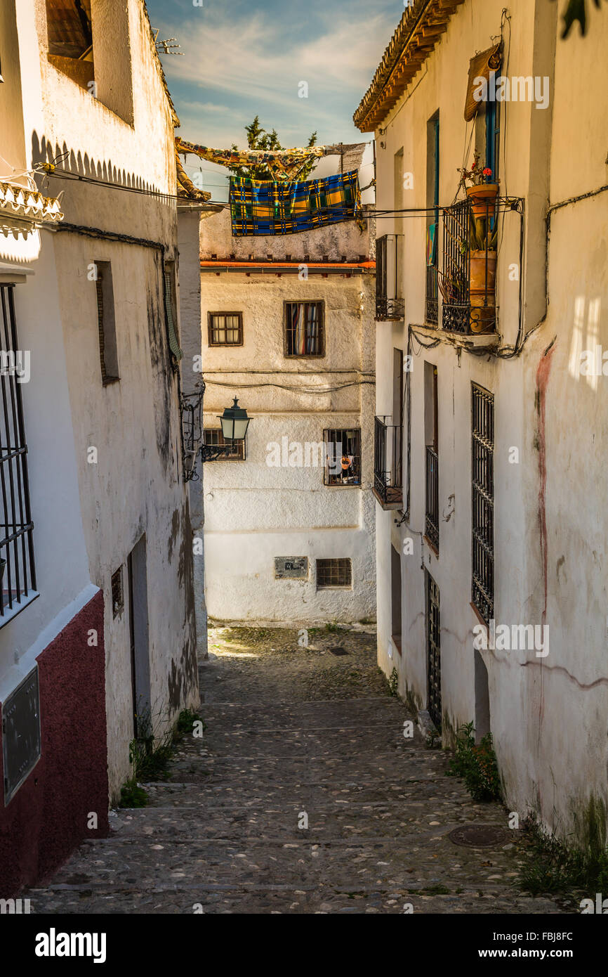 Traditional Spanish Architecture Buildings Houses Street View In Spain